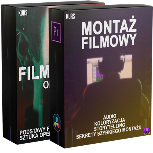 Kurs Filmowania i Montażu 2021 MÓWI KAMERA - Adrian Kilar Warszawa